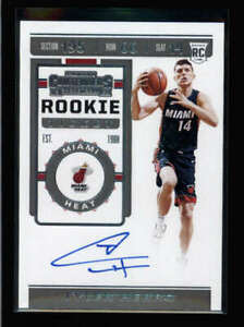 TYLER HERRO 2019/20 CONTENDERS #142 ROOKIE TICKET AUTOGRAPH AUTO RC FC5285