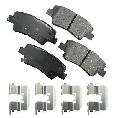 Details about  /SMD1313 REAR Semi-Metallic Brake Pads Fits 10-11 Hyundai Azera
