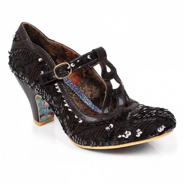 0d6dc4192ba Irregular Choice Smartie Pants Black/white Womens Ladies Court Shoes High  HEELS UK 4 EU 37