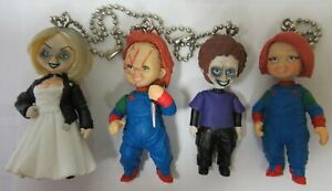 Rares-Chucky-Poupee-Ocra-Set-4-Figurine-Tiffany-Glen-Version-Secrete-5cm-TOMY