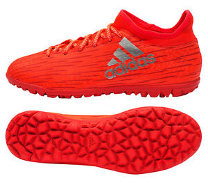 competitive price 7f620 50cd9 Image is loading adidas-X-16-3-TF-S79576-Turf-Shoes-