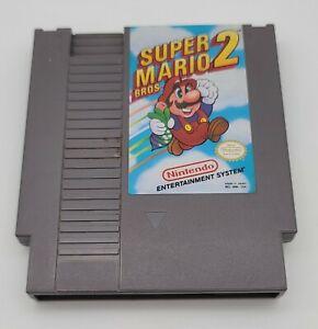 NES Super Mario Bros. 2 Nintendo Entertainment System Cartridge