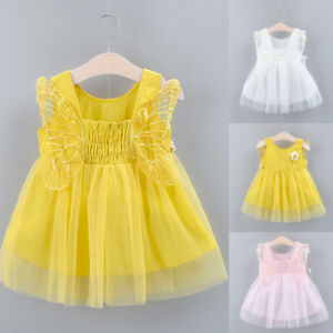 Summer-Toddler-Kids-Baby-Girls-Floral-Lace-Tulle-Party-Princess-Dress-Clothes
