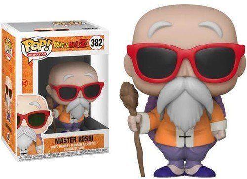 """DRAGON BALL Z MASTER ROSHI 3.75/"""" POP VINYL FIGURE FUNKO 382 UK SELLER"""