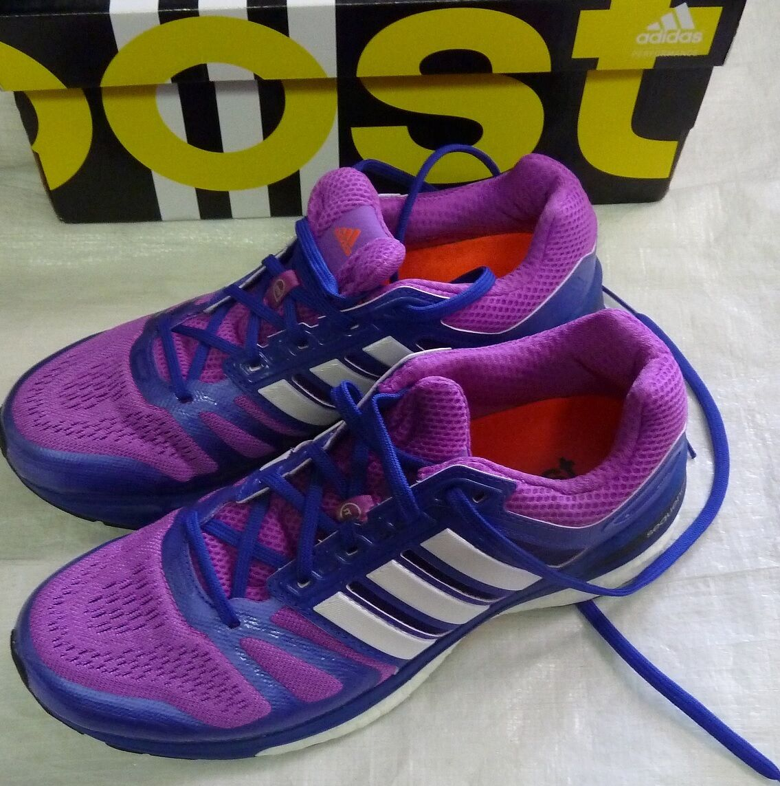 Adidas Women's Supernova Sequence Boost 7  Running Shoes Sz 6.5