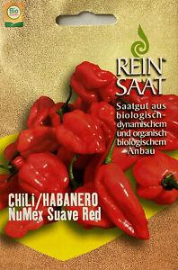 Chili Habanero NuMex - Saatgut - Samen - Chilisamen Chilli  - Bio Austria