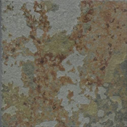 MULTICOLOUR  RIVEN  Slate Wall /& Floor Tiles SAMPLE 100x100x10 MM
