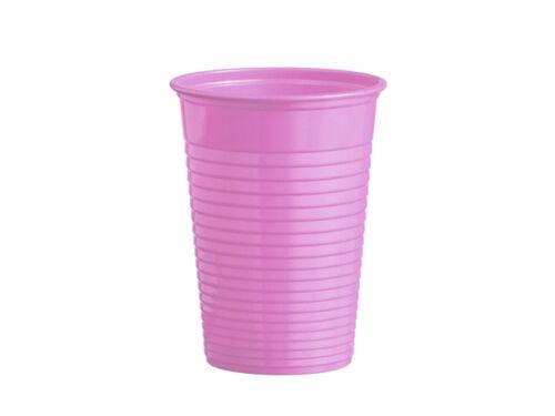 09034-L 50 Trinkbecher Mundspülbecher Partybecher flieder lila 180 ml PS