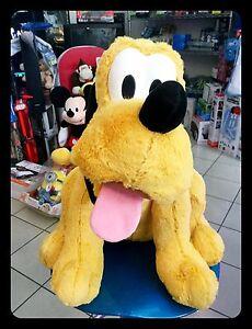 Peluche Pluto XL Disney Velours Fourrure H 50 X L 45 Cm