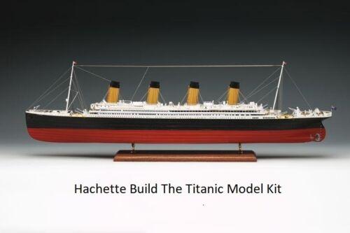 HACHETTE Construire le Titanic Model Kit