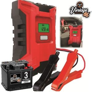 Classic & Vintage Car Automatic 6-12v 4 Amp Intelligent Battery Trickle Charger
