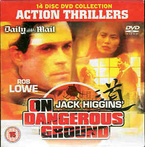 Jack-Higgins-039-s-ON-DANGEROUS-GROUND-Action-Thriller-DVD