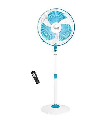 Vguard Pedestal Fan with remote Finesta Blue white (SMP2-)