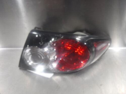 2006 2007 2008 MAZDA 6 Passenger Tail Light Assembly OEM 244216