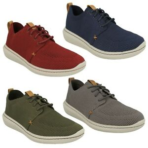 Image is loading MENS-CLARKS-LACE-UP-CASUAL-CLOUDSTEPPERS-TRAINERS-SHOES- 8f1ef7bea
