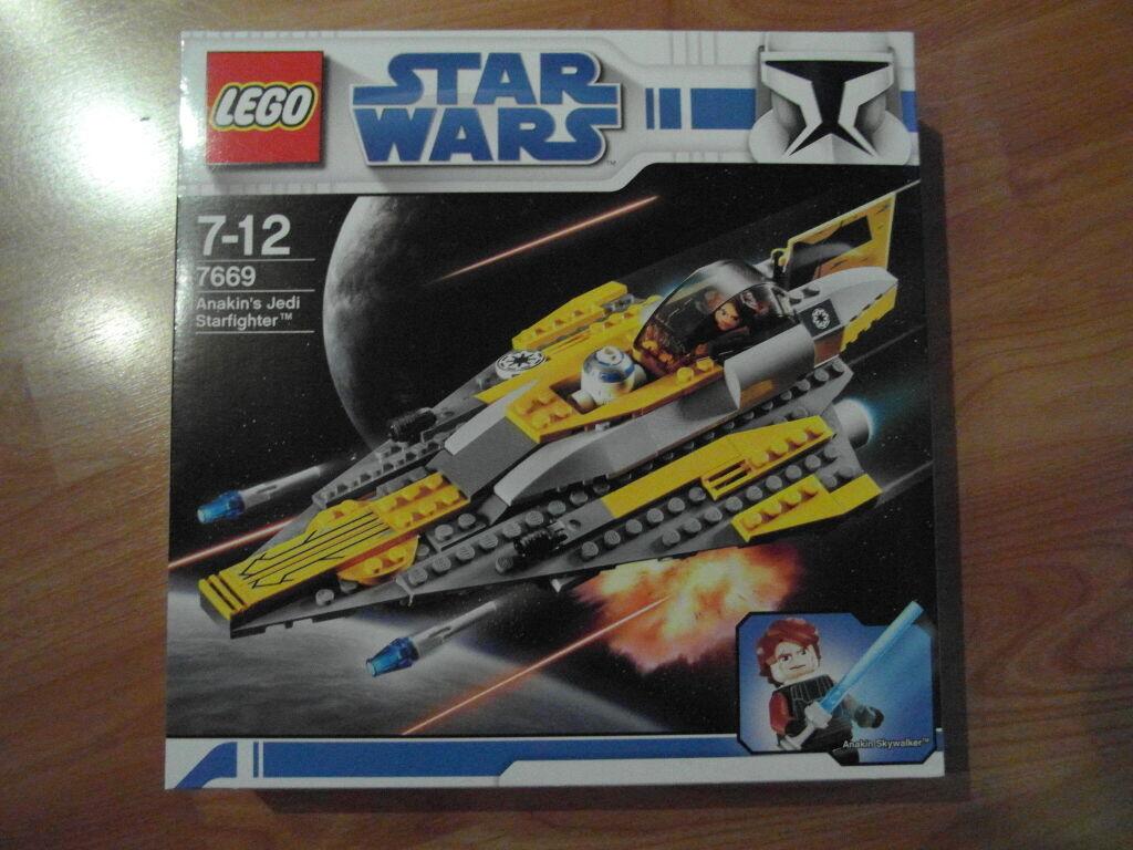 LEGO STAR WARS ANAKIN´S JEDI STARFIGHTER 7669 NEU NEU NEU & OVP fee629