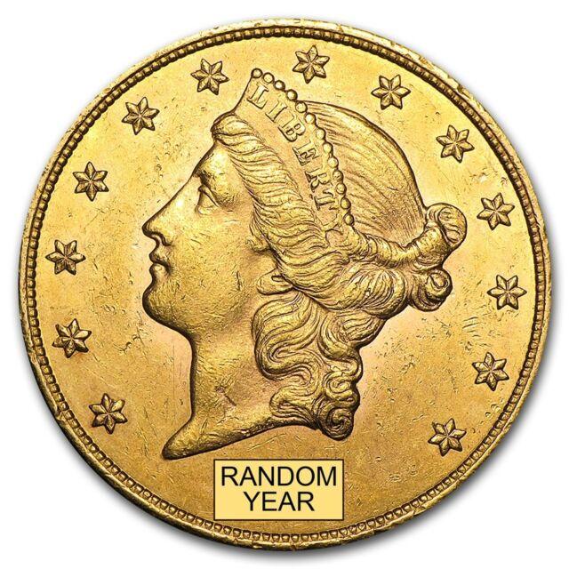 $20 Liberty Gold Double Eagle Coin AU (Random Year) - SKU #132973