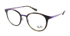 de5839cc317 RAY-BAN RX 6372M 2956 Havana Violet glasses Frame Eyewear Eyeglasses ...