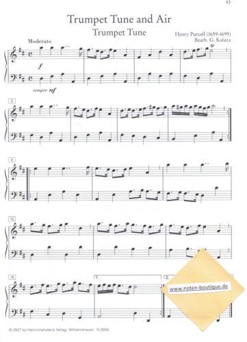 Kirchenorgel Orgel Noten Altenglische Orgelmusik leiMittel mittel MANUALITER