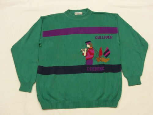 Vintage Iceberg Ship Tip Sea GrHaut Giant Casual Gulivers Pullovers Voyage rtsxhCQdB