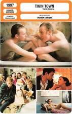 FICHE CINEMA : TWIN TOWN - Ifans,Thomas,Allen 1997