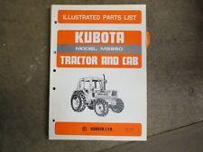Kubota M5950 M 5950 Tractor Parts Manual