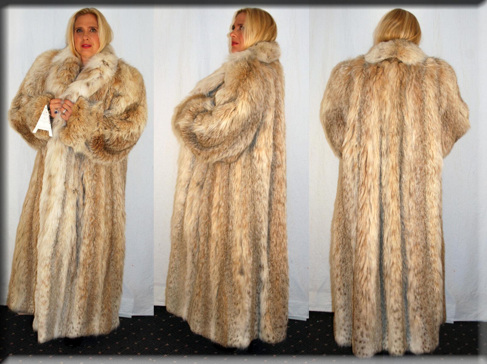 New Russian Lynx Fur Headband One Size Fits All-Efurs4less