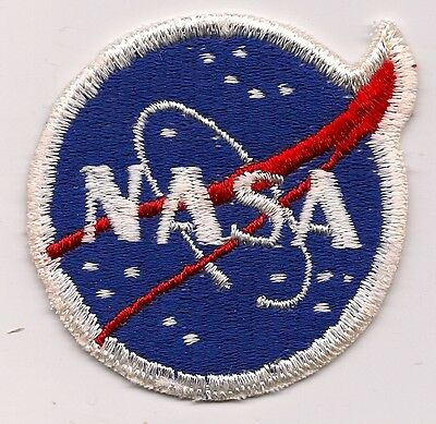 RARE 1960s VINTAGE NASA MEATBALL PATCH VARIANT 1