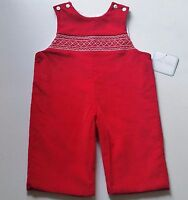Boys Petit Bebe Boutique Christmas Romper 2t 3t 4t Outfit Smocked Anavini