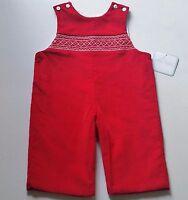 Boys Petit Bebe Boutique Christmas Romper 12m 18m 24m Outfit Smocked Anavini