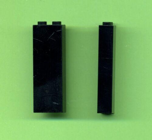 Stein 2 Stück Lego--2454-- Säule 1 x 2 x 5 Schwarz