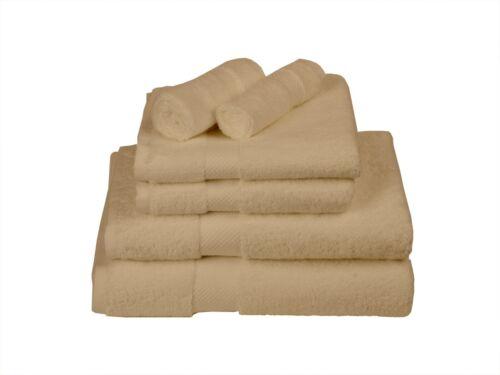 6-Piece 600GSM Bath Towel Sets WHOLESALE LOTS OF 6 OR 12 SETS