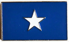 American Civil War Confederacy Bonnie Blue Flag Lapel Pin Badge New