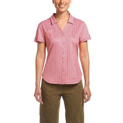 Maier Sports Lleyn Camicia Da Donna Rosa-mostra Il Titolo Originale Per Produrre Un Effetto Verso Una Visione Chiara