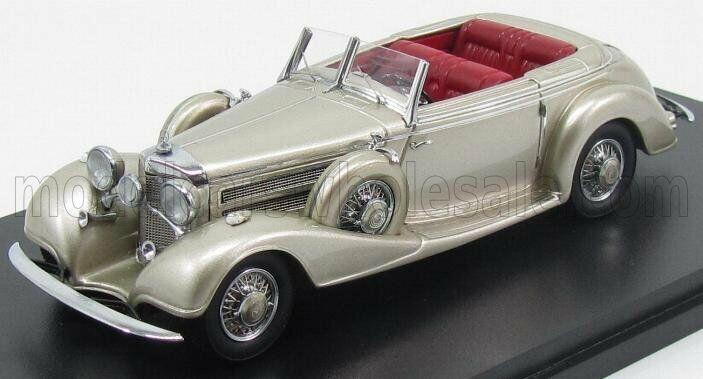 Wonderful modelcar MERCEDES 540K CONgreenIBLE SINDELFINGEN 1938 1938 1938 - goldmet. - 1 43 ec6b57