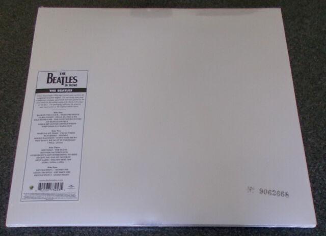 THE BEATLES-THE WHITE ALBUM-2014 NUMBERED MONO VINYL 2xLP+INSERTS-NEW & SEALED