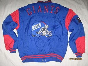 New-York-Giants-Jacket-Coat-Mens-Medium-Vintage-Nutmeg-NFL-NYG-90s-Parka