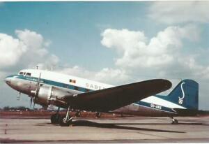SABENA   DC3   HIGH QUALITY PHOTO PRINT 13,5X9