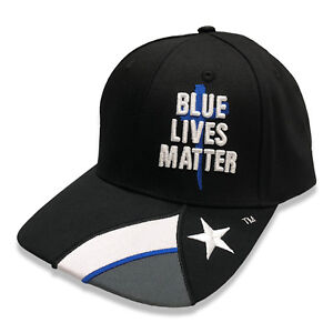 Blue-Lives-Matter-Texas-Cap