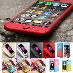 Full-Cover-per-iPhone-7-5s5s-se-6s-6-Plus-360-Custodia-Protettiva-Vetro-9-H