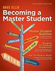 Textbook-Specific CSFI: Becoming a Master Student by Dave Ellis (2012, Paperback)