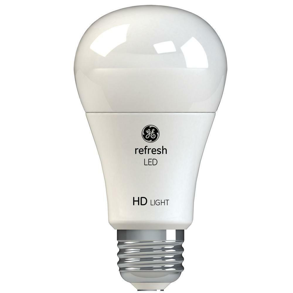 GE 60W Equivalent Daylight High Definition A19 Dimmable (LOT of 6)LED10DADL9-HT2