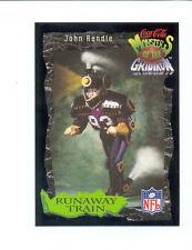 1994 Coke JOHN RANDLE Minnesota Vikings Train Monsters of the Gridiron Card