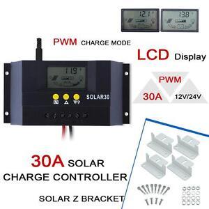 30A-Solar-Laderegler-Solarregler-Solarpanel-Controller-Regulator-Z-Halterun-KS