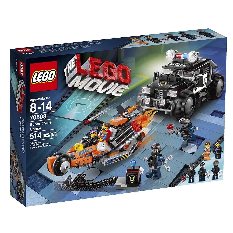 Lego Movie 70808  Super Cycle Chase Neuf GRATUIT UK p&p  obtenir la dernière