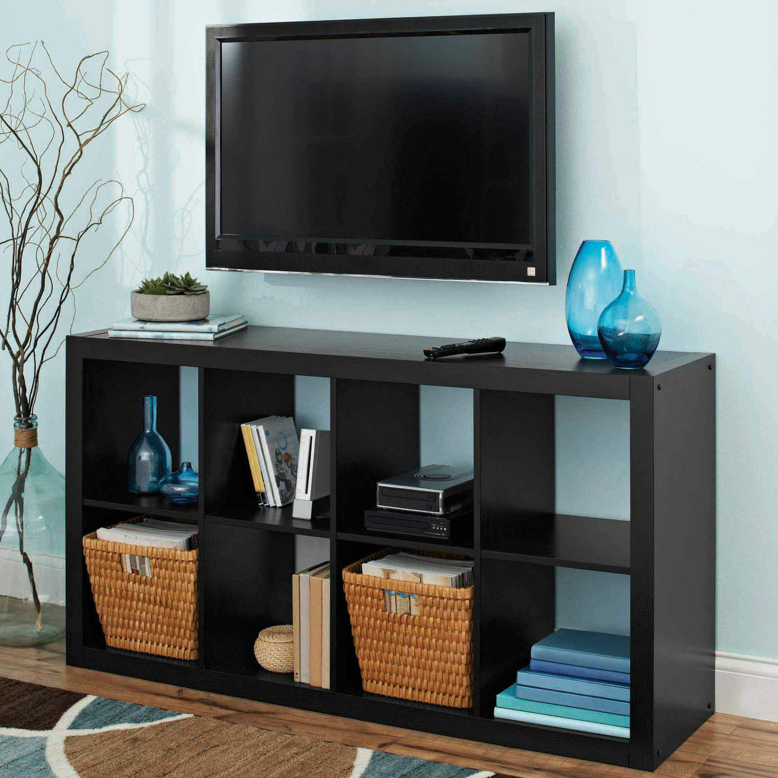 Better Homes And Gardens 8 Cube Organizer Storage Bookcase Multiple Colors Ebay