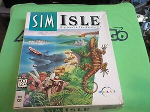 SimIsle-Missions-in-the-Rainforest-PC-1995-Retail-Box-PC-Game-MS-DOS