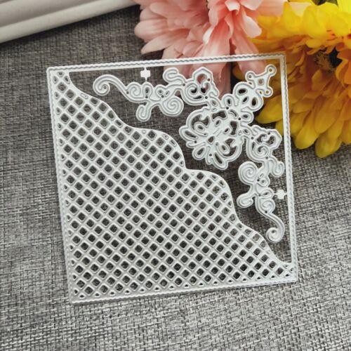 Metal Dies Frame Square Scrapbook Stencil Cutting Paper Album Embossing Card