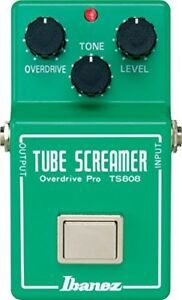 Ibanez-TS808-Tube-Screamer-Overdrive-Pro-Guitar-Effect-Pedal-TS-808-NEW