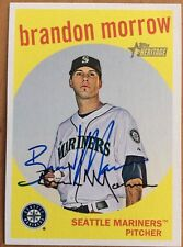 Brandon Morrow Mariners SP 2008 Signed Autographed Topps Heritage Card #708~ COA